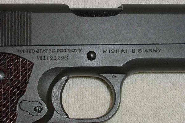 Colt Model 1911a1 M1911a1 U S Army 45 Acp Ghd 1943